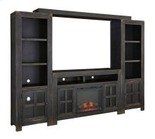 Gavelston - Black 5 Piece Entertainment Set