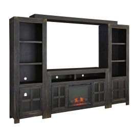 Gavelston - Black 5 Piece Entertainment Set