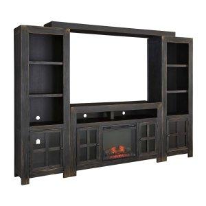 Ashley Furniture Gavelston - Black 5 Piece Entertainment Set