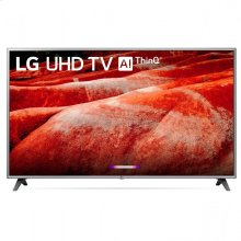 """LG 75"""" Silver 4K HDR Smart LED TV With AI ThinQ"""