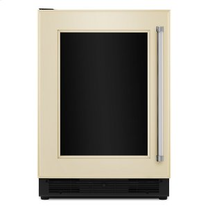 "KitchenAid24"" Panel Ready Beverage Center with Glass Door Panel Ready"