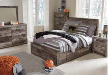 Derekson Full Bedroom Group: Full Bed, Nightstand, Dresser & Mirror
