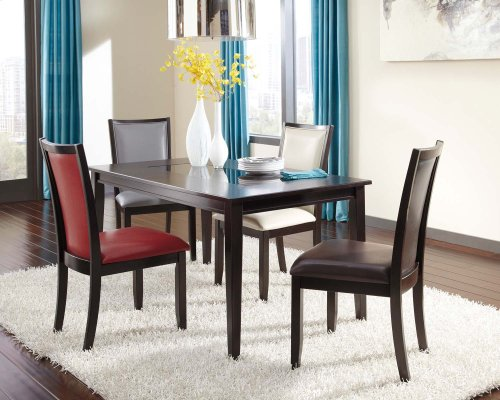 Trishelle - Dark Brown Set Of 2 Dining Room Chairs