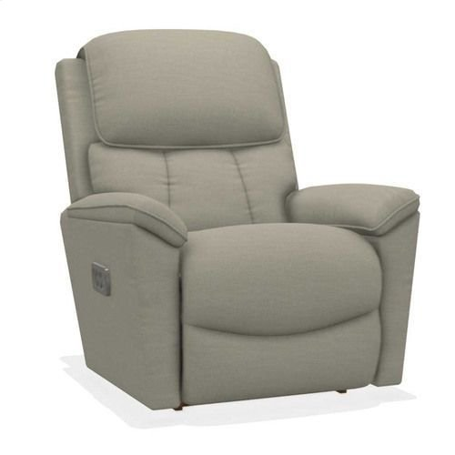 Kipling Power Rocking Recliner w/ Head Rest and Lumbar
