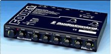 In-Dash Car Audio Equalizer with Auxiliary Input