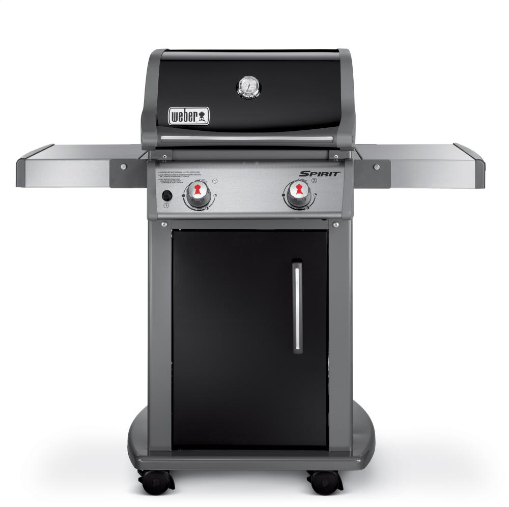 SPIRIT® E-210™ LP GAS GRILL - BLACK Photo #2