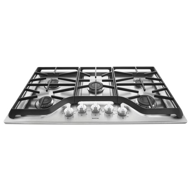Maytag 36-inch Wide Gas Cooktop with Power Burner