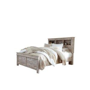 Ashley Furniture Willabry - Weathered Beige 3 Piece Bed Set (Queen)