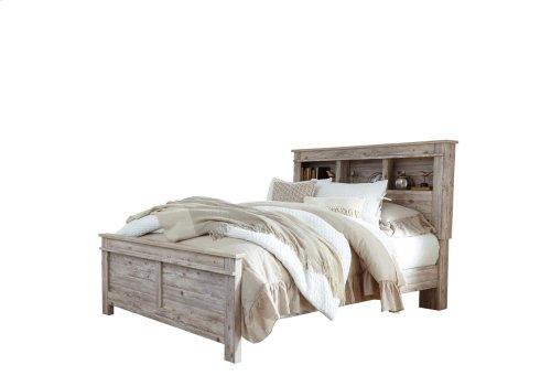 Willabry - Weathered Beige 3 Piece Bed Set (Queen)