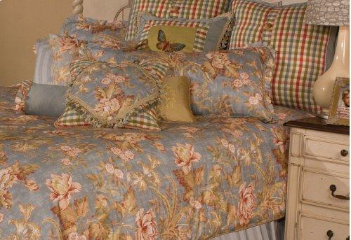 12 pc Queen Comforter Set Spa