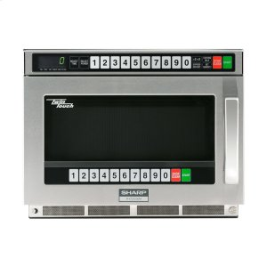 Sharp AppliancesSharp TwinTouch 2200 Watt Commercial Microwave Oven with Dual TouchPads