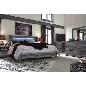 Ashley Furniture Baystorm - Gray 2 Piece Bed Set (King)
