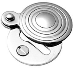 Polished Brass Round covered escutcheon