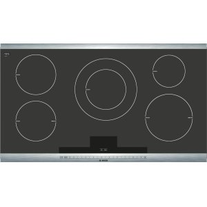 Bosch800 Series - Black with Stainless Steel Strips NIT8665UC NIT8665UC