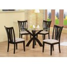 Shoemaker Deep Merlot Vertical Slat Dining Chair Product Image