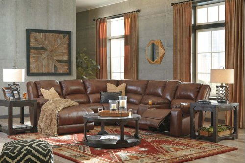 5 Pc LAF Chaise Reclining Sectional