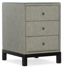 Living Room Woodlands Chairside Chest