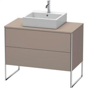 Vanity Unit For Console Floorstanding, Basalt Matt (decor)