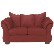 Signature Design by Ashley Darcy Loveseat in Salsa Microfiber