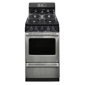 Premier20 in. Freestanding Gas Range in Stainless Steel
