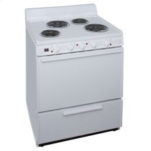 30 Inch Free Standing Electric Range
