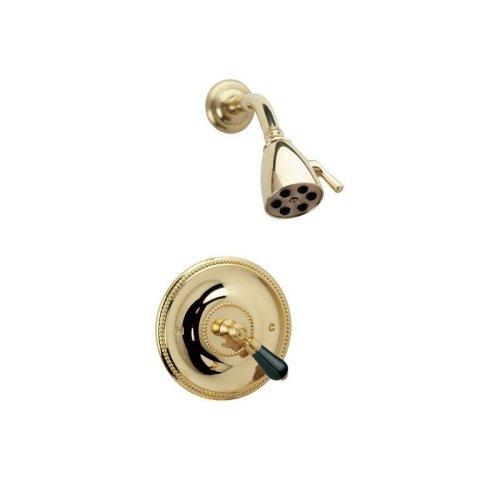 REGENT Pressure Balance Shower Set PB3274 - Satin Gold with Satin Nickel