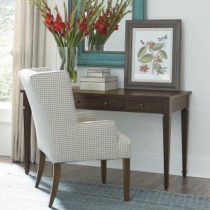 """Bassett FurniturePeppermill Commonwealth 56"""" Writing Desk"""