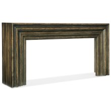 Living Room Crafted Hall Console