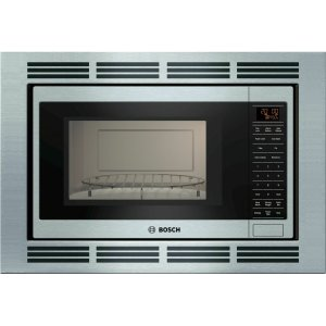 Bosch800 Series Speed Oven 24'' Stainless steel, Door Hinge: Left HMB8050