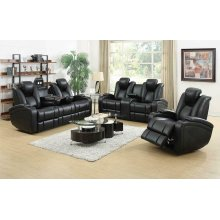 Delange Motion Power Loveseat