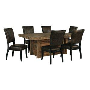 AshleySIGNATURE DESIGN BY ASHLEYSommerford - Brown 7 Piece Dining Room Set