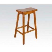 """Oak 29"""" Solid Wood Stool"""