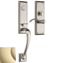 Lifetime Polished Brass Cody 3/4 Escutcheon Trim