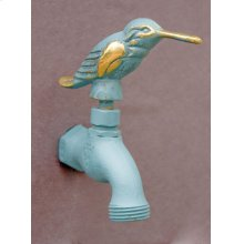 Verdi French Country Hose Bibb Faucets Brass / Hummingbird