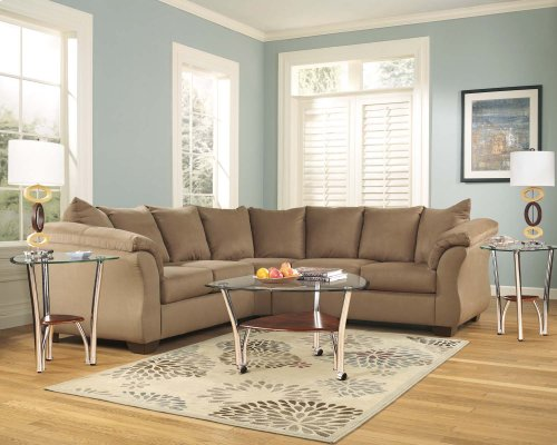 Darcy - Mocha 2 Piece Sectional