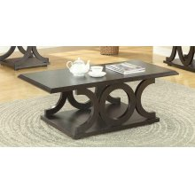 Casual Cappuccino Coffee Table