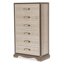 Upholstered 6 Drawer Chest