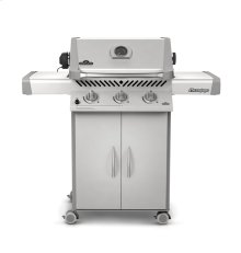 Prestige 308 propane grill with rear burner