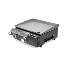 Gourmet Two Burner Gas Griddle