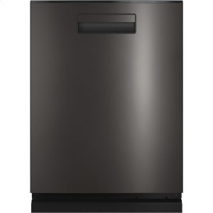 Haier ApplianceHaier Smart Top Control with Stainless Steel Interior Dishwasher with Sanitize Cycle