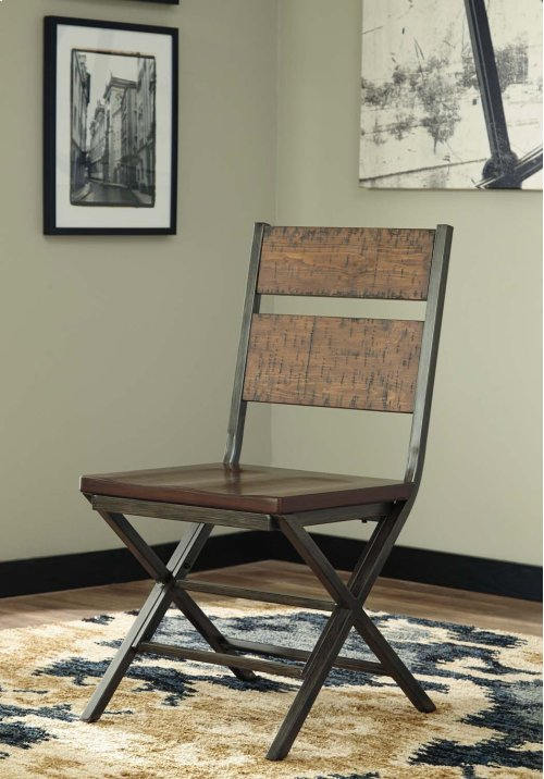 Kavara - Medium Brown Set Of 2 Dining Room Chairs