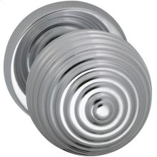 Interior Modern Knob Latchset in (US26 Polished Chrome Plated)