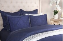 Francis Jacquard Indigo 3Pc Queen Set