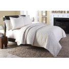 3 pc Queen Coverlet/Duvet Set Linen Product Image