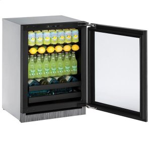 "U-Line24"" Beverage Center With Integrated Frame Finish (230 V/50 Hz Volts /50 Hz Hz)"