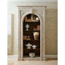 Thoroughbred Citation Bookcase - White Gesso