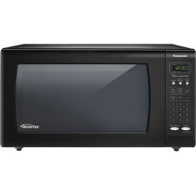 1.6 Cu. Ft. Countertop Microwave Oven with Inverter Technology - Black - NN-SN733B