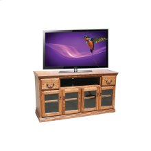 "A-T274 Traditional Alder 65"" TV Console"