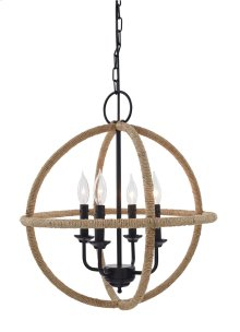 Jute Pendant Light (1/CN)