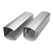 Wall Hood Chimney Extension Kit - Stainless Steel